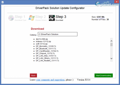 DriverPack Solution Screenshot3
