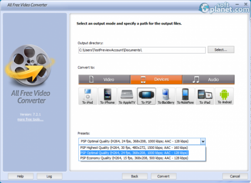 All Free Video Converter Screenshot5