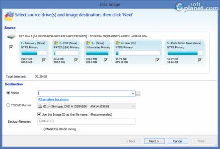 Macrium Reflect Standard Screenshot2
