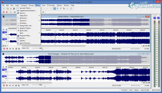 Sound Forge Pro Screenshot2
