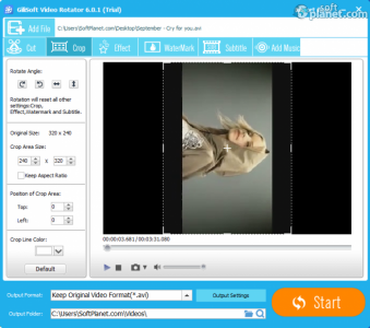 GiliSoft Video Editor Screenshot5