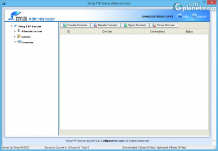 Wing FTP Server Screenshot2