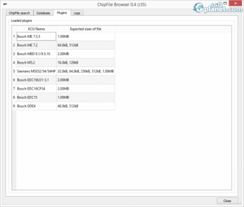 ChipFile Browser Screenshot3