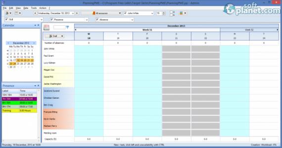 PlanningPME Screenshot2