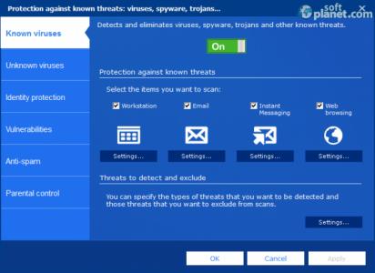 Panda Internet Security Screenshot4