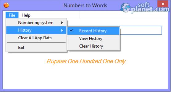 Numbers to Words Screenshot3