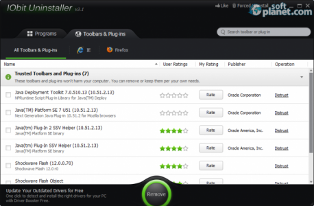 IObit Uninstaller Screenshot2
