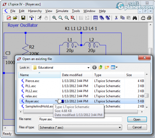 LTspice IV Screenshot2
