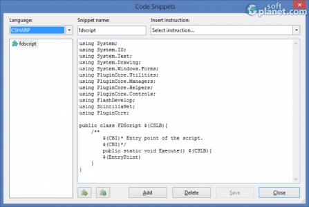 FlashDevelop Screenshot2
