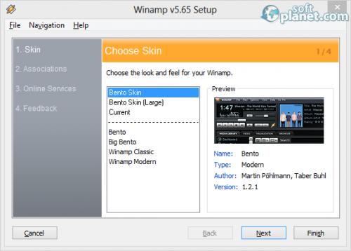 Winamp Screenshot2
