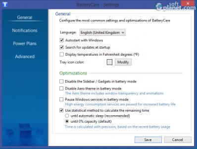 BatteryCare Screenshot3