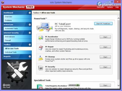 System Mechanic Screenshot2