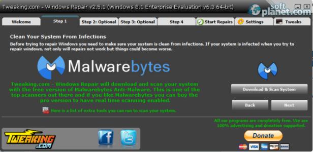 Windows Repair Screenshot2