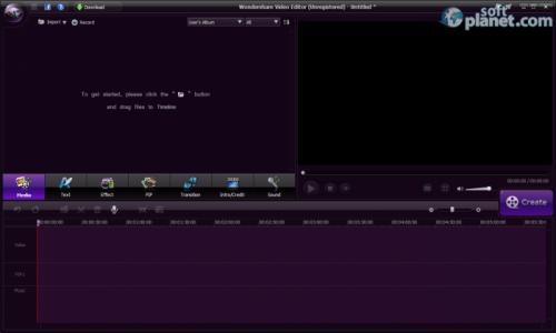 Wondershare Video Editor Screenshot2