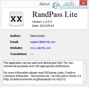 RandPass Screenshot2
