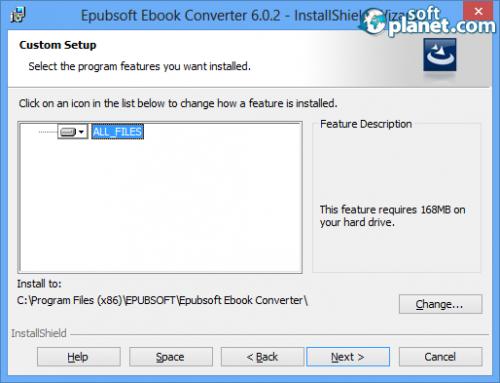 Epubsoft Ebook Converter Screenshot2