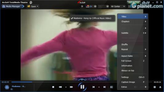 ArcSoft TotalMedia Theatre Screenshot2