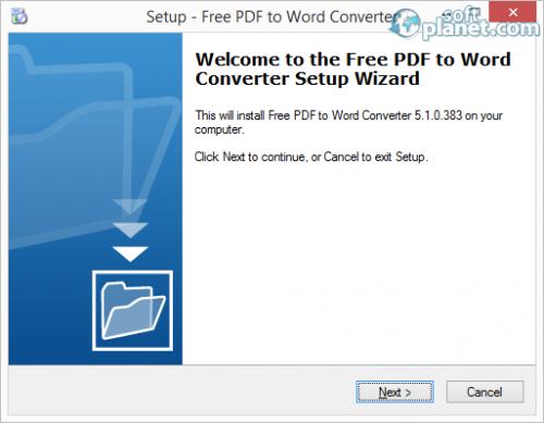 Free PDF to Word Converter Screenshot2