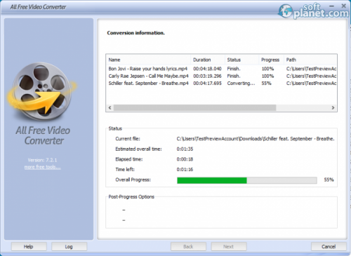 All Free Video Converter Screenshot4