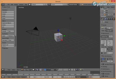Blender Screenshot2