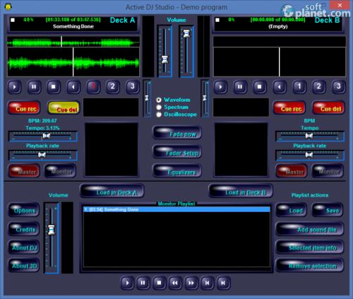Active MP3 DJ Studio 6.4