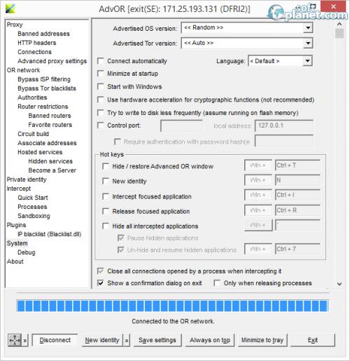 Advanced Onion Router 0.3.0.19a