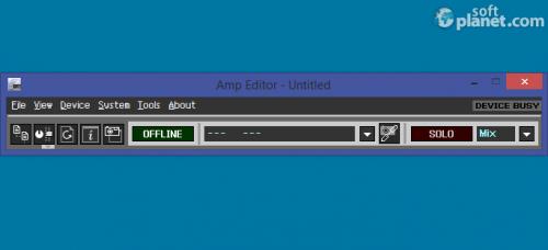 Amp Editor 1.3.1
