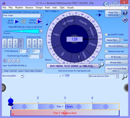 Bounce Metronome 4.4
