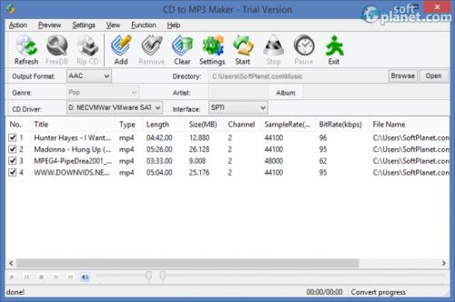 CD to MP3 Maker 3.50