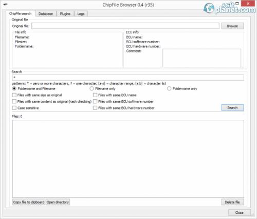 ChipFile Browser 0.4 Alpha