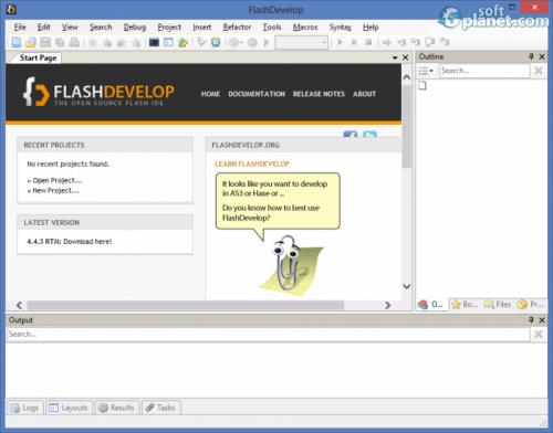 FlashDevelop 4.6.4