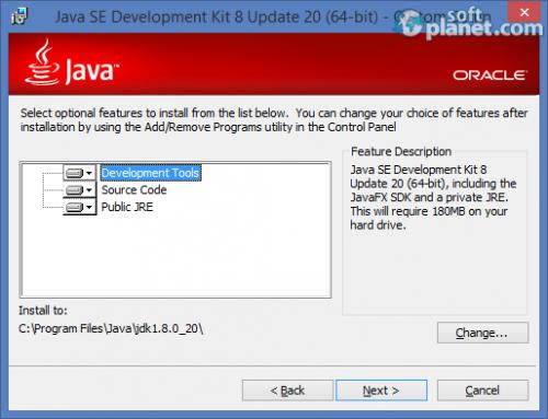 Java Development Kit 64 1.8.0 Build 20