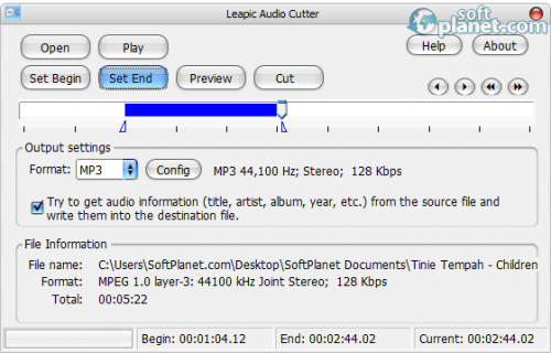Leapic Audio Cutter 5.0