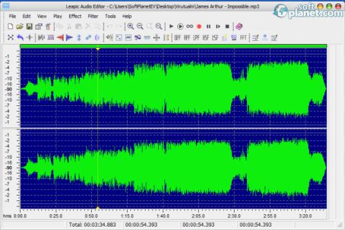 Leapic Audio Editor 3.0