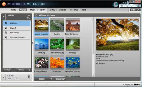 MOTOROLA MEDIA LINK 1.5.4090.2