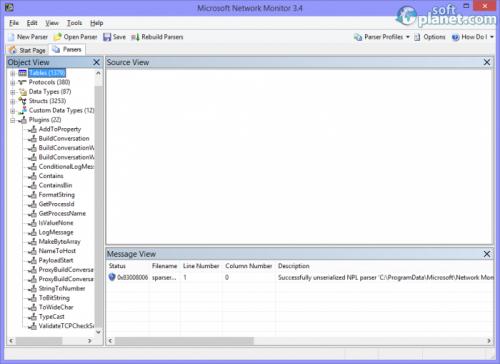 Microsoft Network Monitor 3.4.2350.0