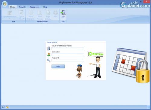 OrgFinances for Workgroup 2.4