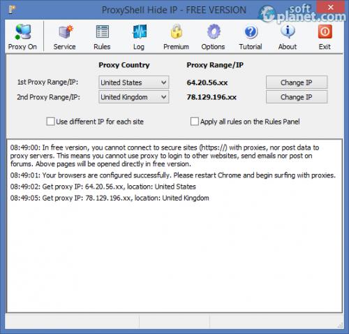 ProxyShell Hide IP 7.3.2 FREE