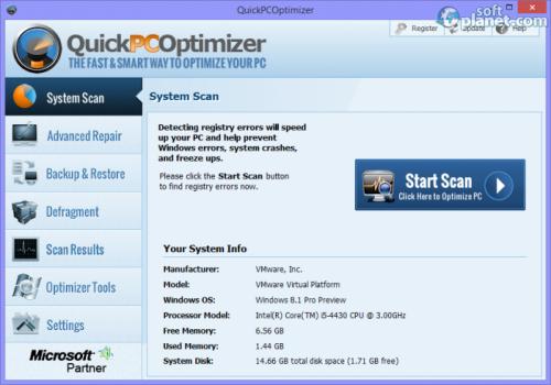QuickPCOptimizer 3.2.0