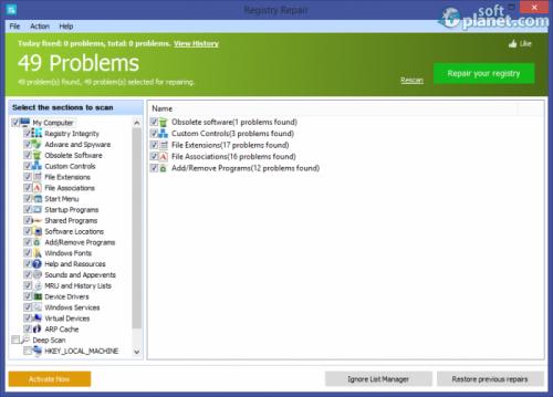 Registry Repair 5.0.1.67