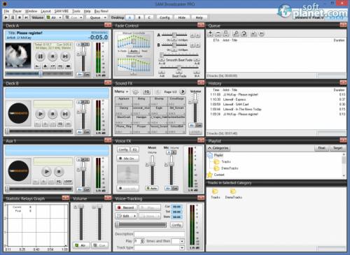 SAM Broadcaster PRO 2013.6