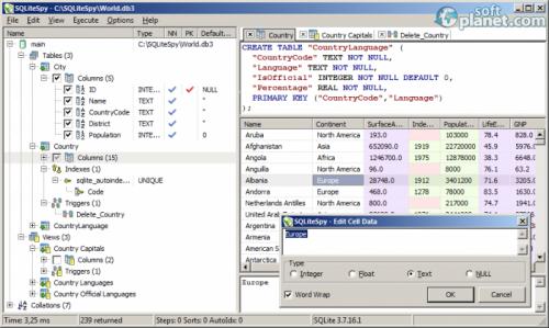 SQLiteSpy 1.9.6