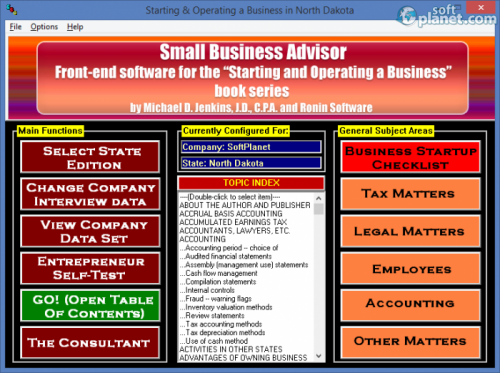 Small Business Advisor 2013.Q4