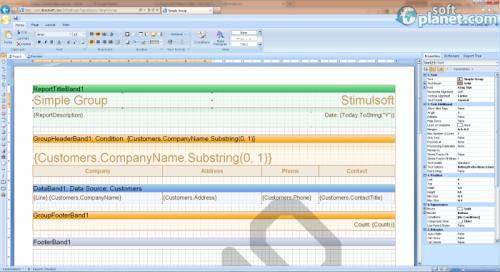 Stimulsoft Reports Web for MVC 2012.3