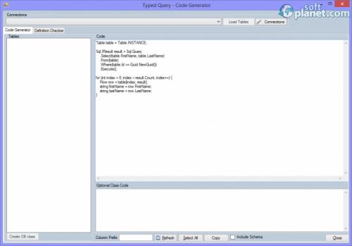 Typed Query – Code Generator 0.9.6
