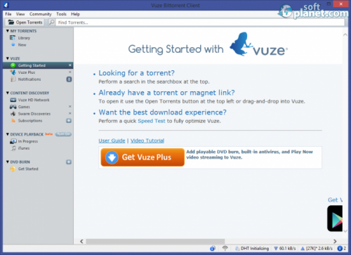 Vuze Bittorrent Client 5.6.0.0