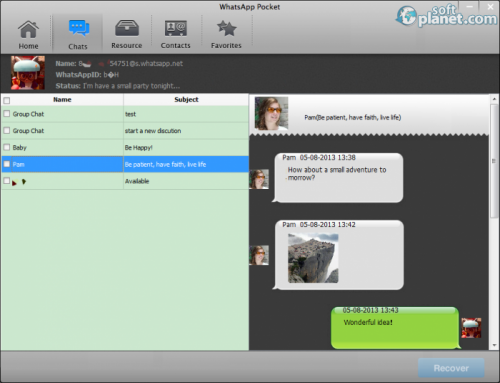 WhatsApp Pocket for Windows 1.5.0