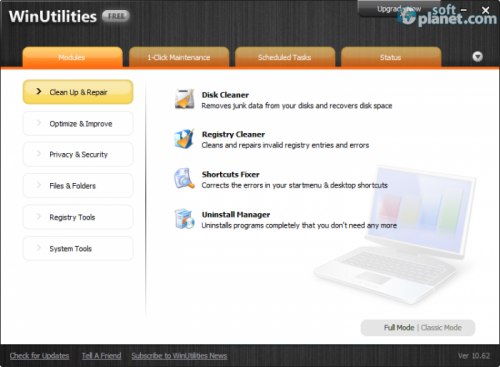 WinUtilities Free 11.36