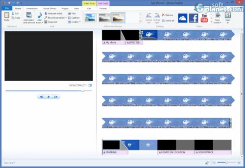 Windows Movie Maker 2012 Build 16.4