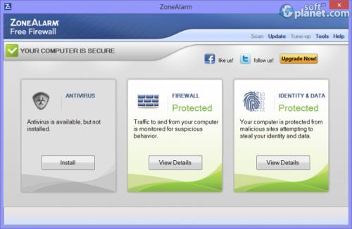 ZoneAlarm Free Firewall 13.3.209.000